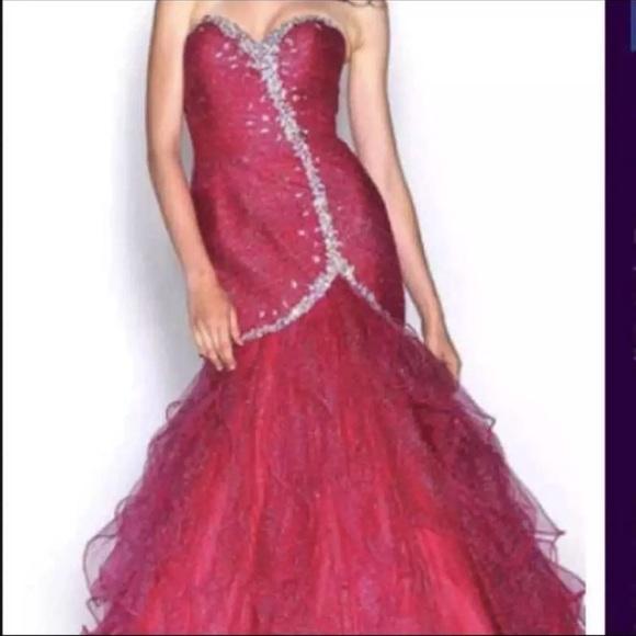 78% off landa splash Dresses Net J369 Prom Dress | Poshmark